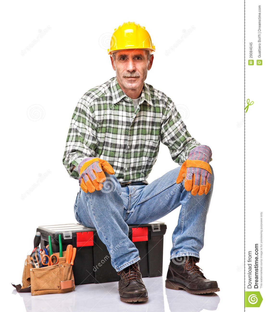 At construction sites, a handyman is like a slave