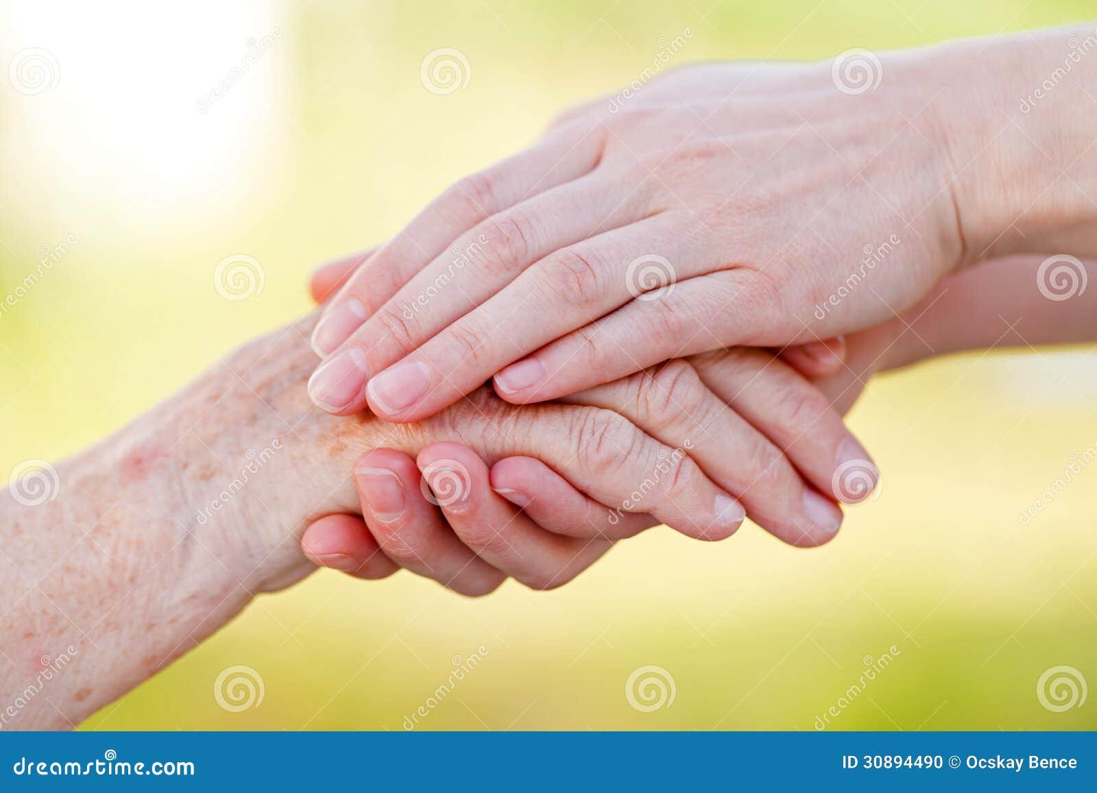 Senior Homecare Stock Photo Image 30894490