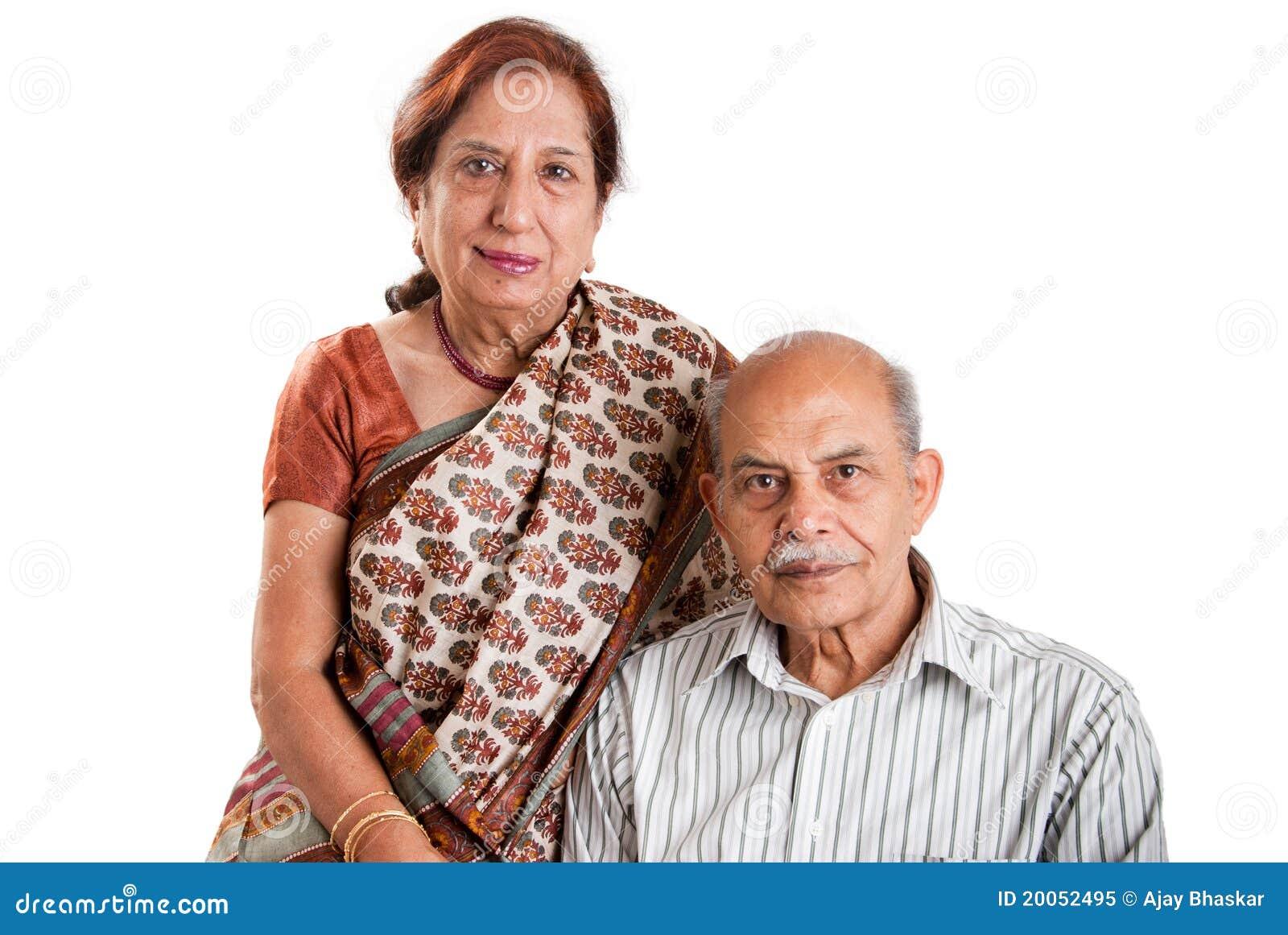 Senior Indian Couple Royalty Free Stock Photo Image