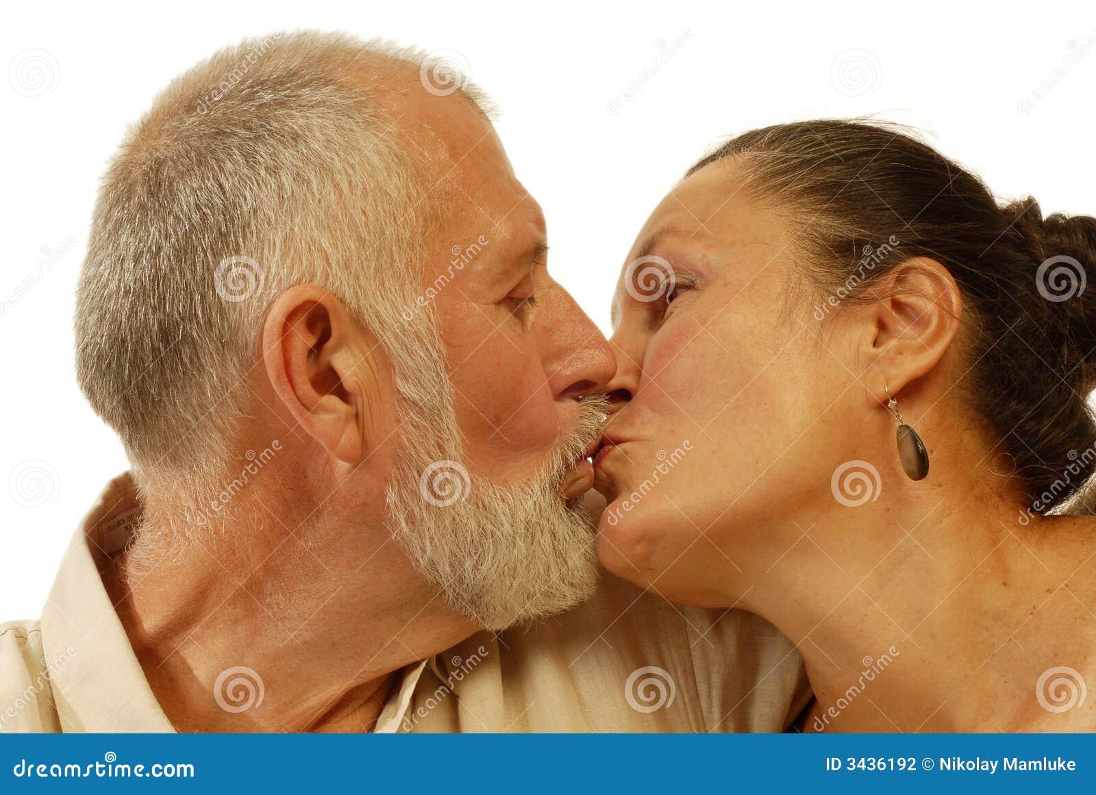 senior kissing stock photo. image of hope, friendship - 3436192