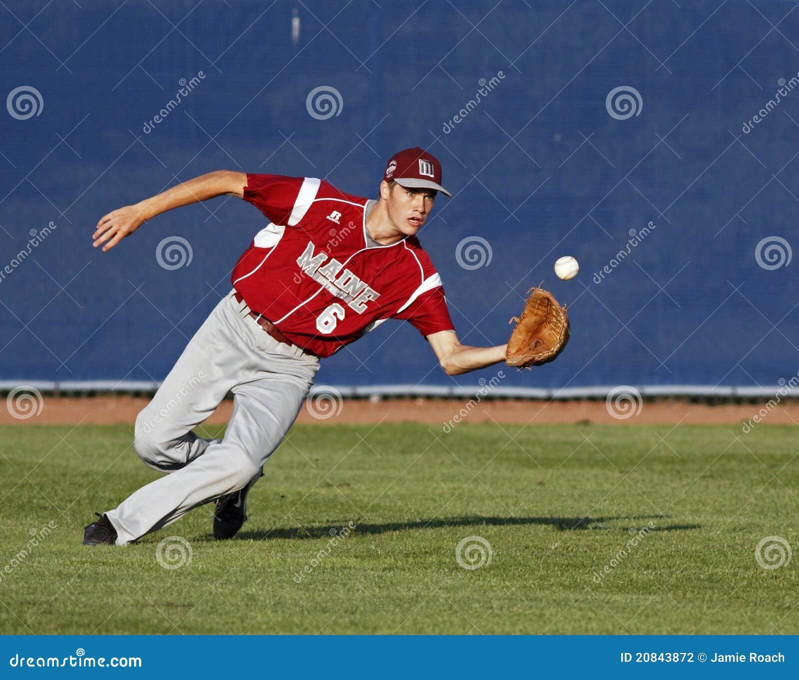 Senior league baseball world series centrefield