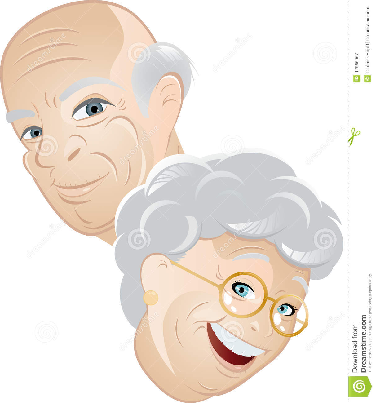 Senior Man And Woman Royalty Free Stock Photography - Image: 17966067