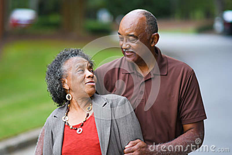 African american senior citizens