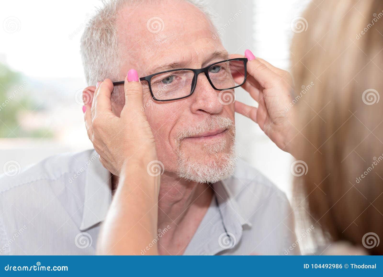 Mature senior men
