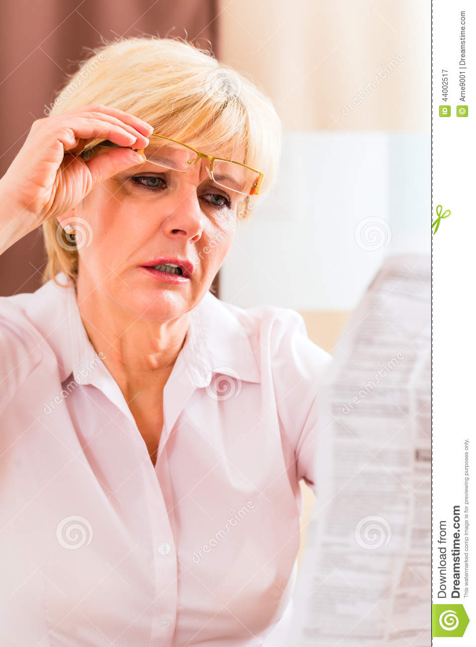 Image result for presbyopia stock photo