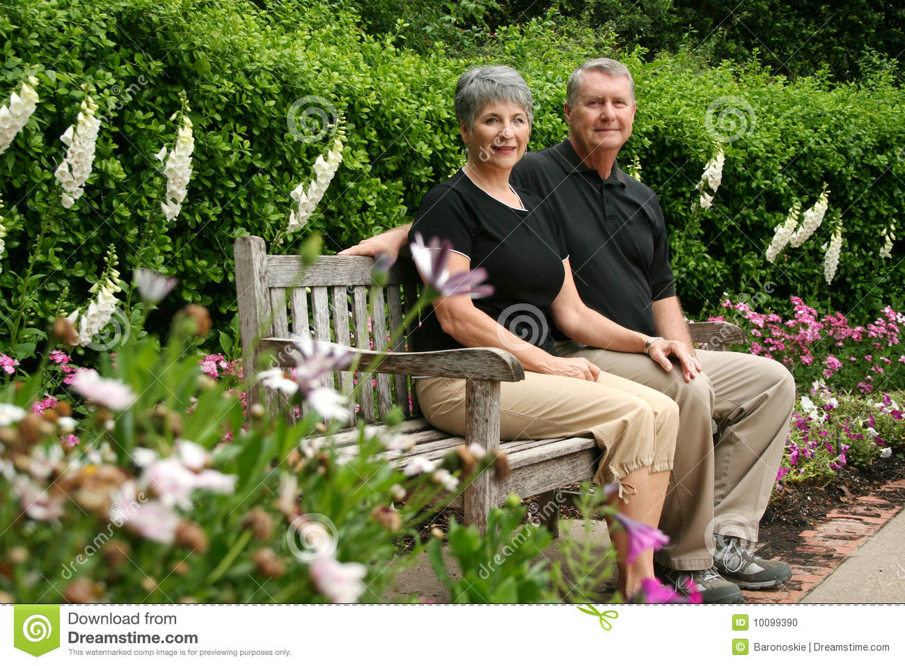 Senior retired couple stock photo image 10099390 for House plans for retired couples
