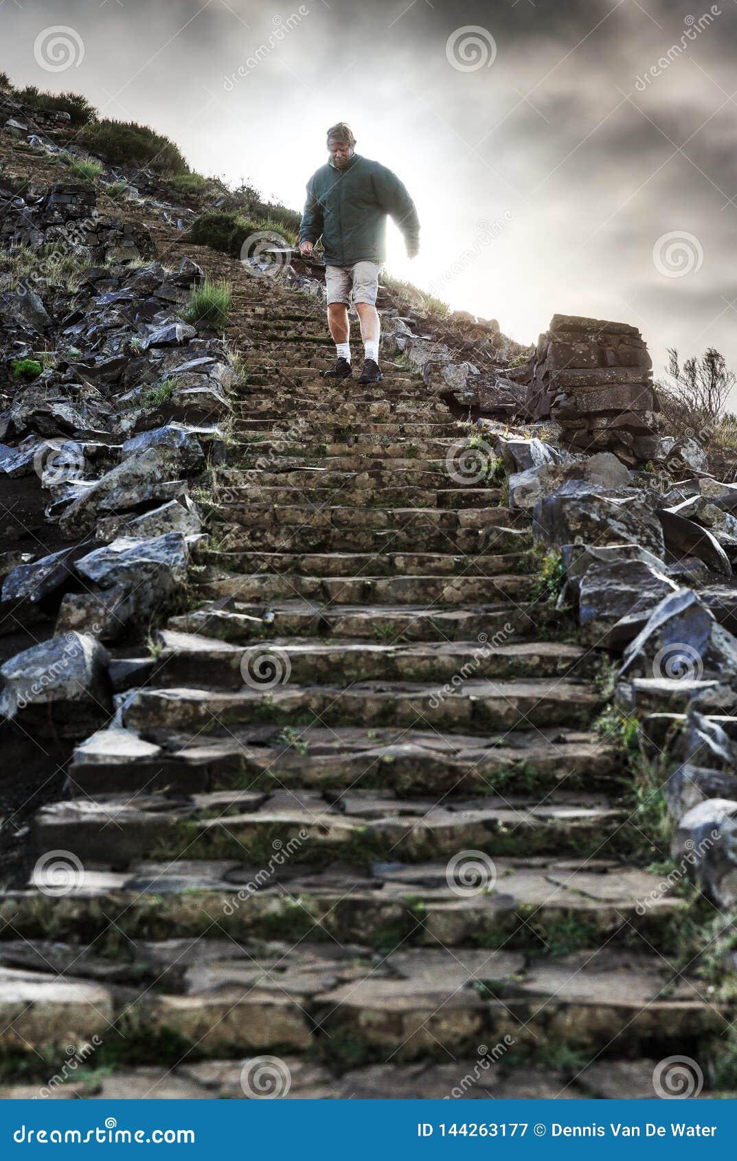 Ominous staircase Madeira