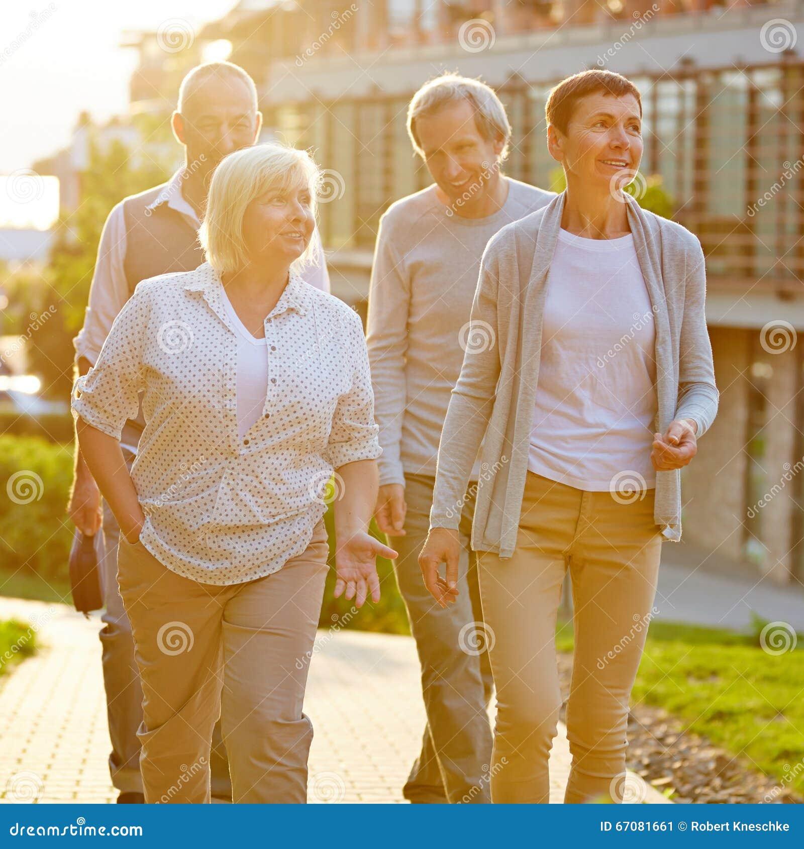 Senior travel groups