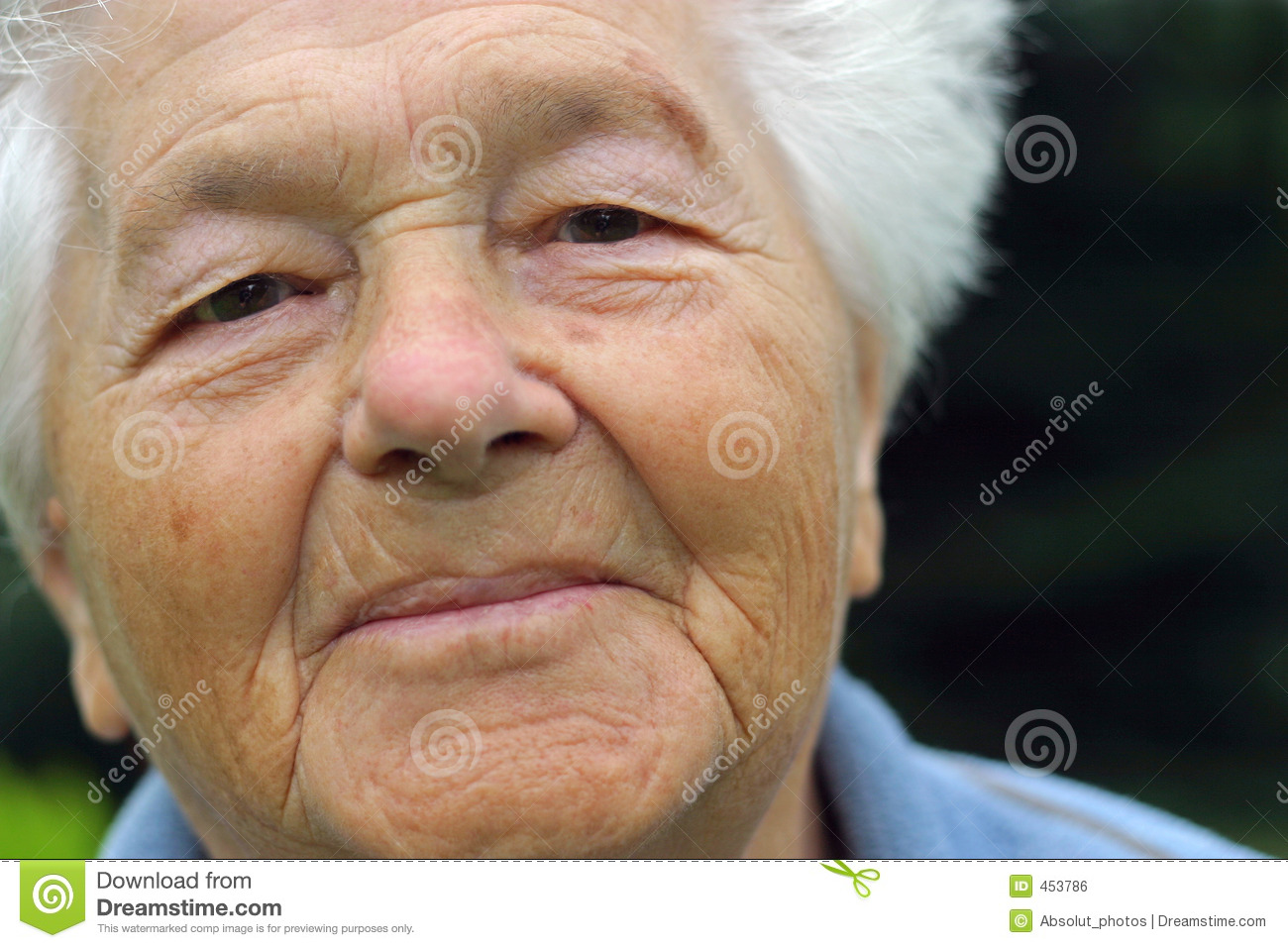 Download Senior woman stock photo. Image of head, aging, look, face - 453786