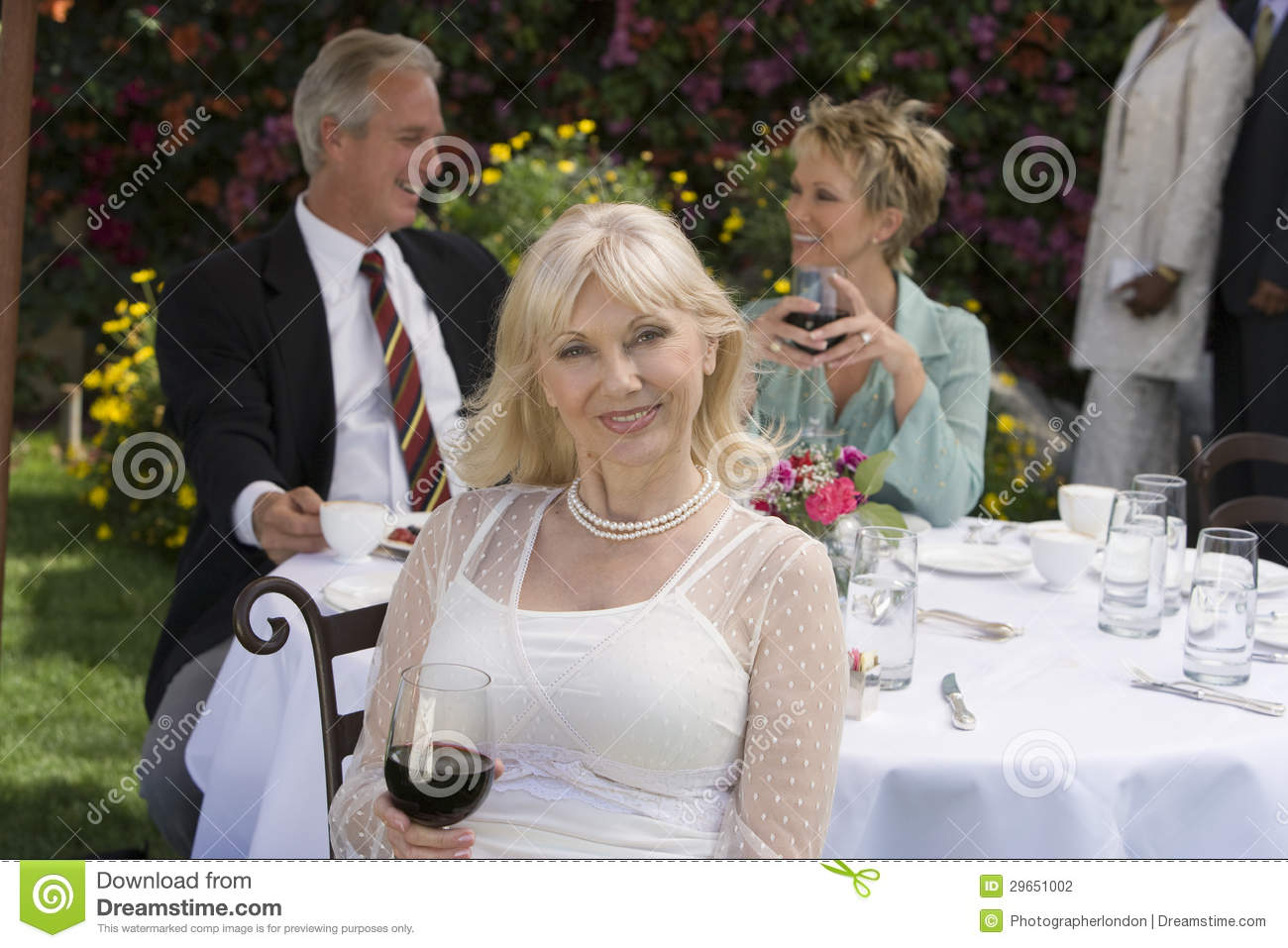 Women party mature All