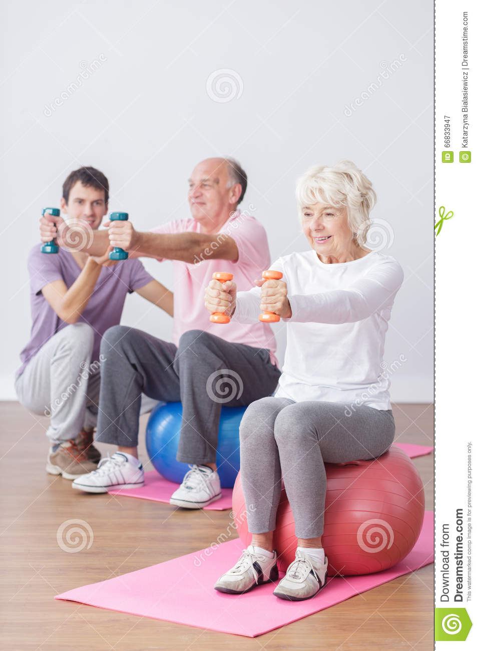 Seniors and active life