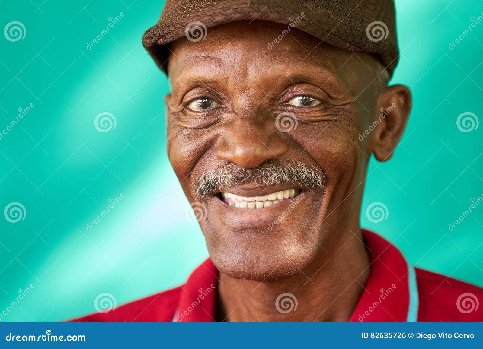 OLIVIA: Images of old black men