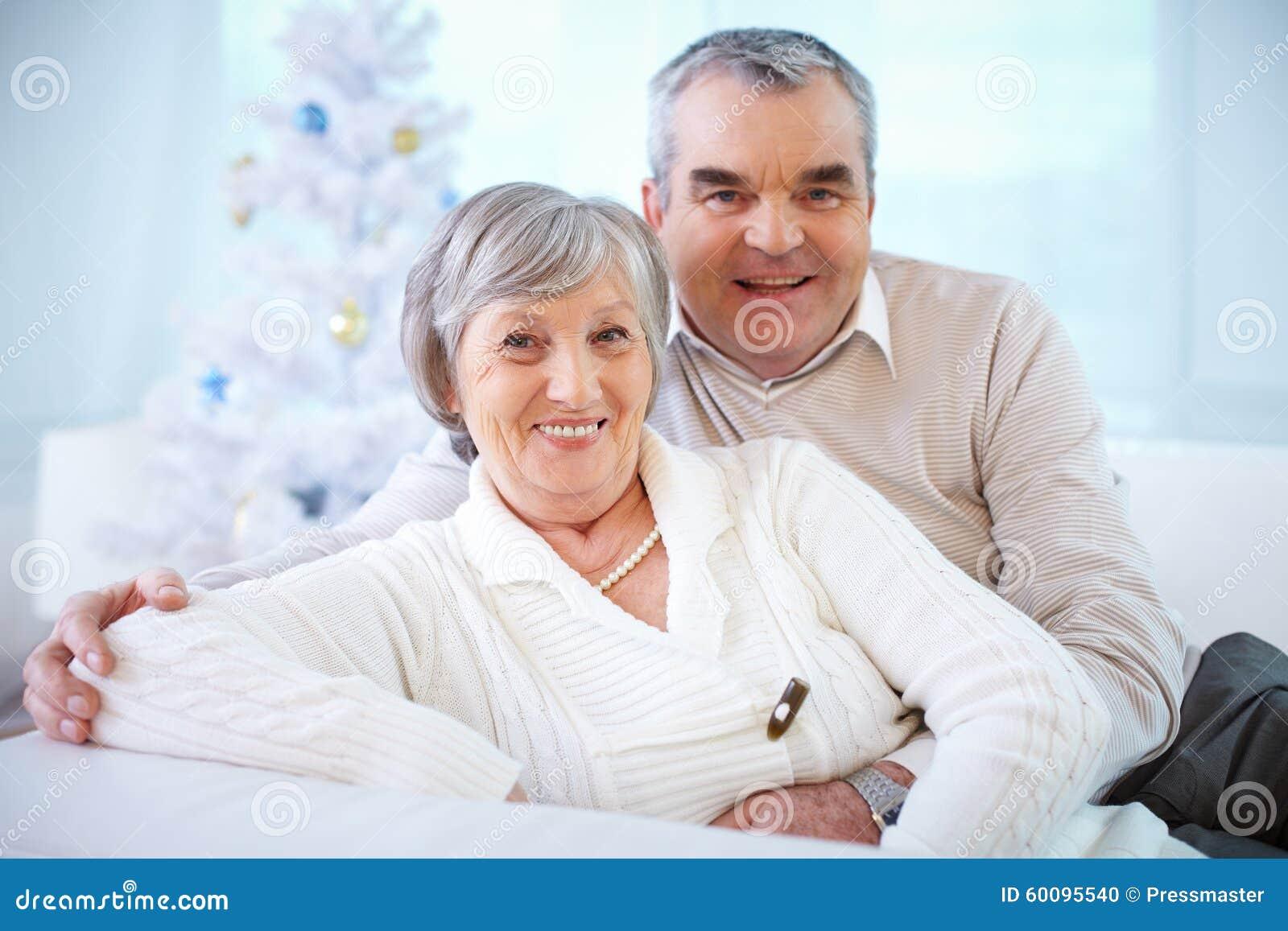 Seniorzy szczęśliwi