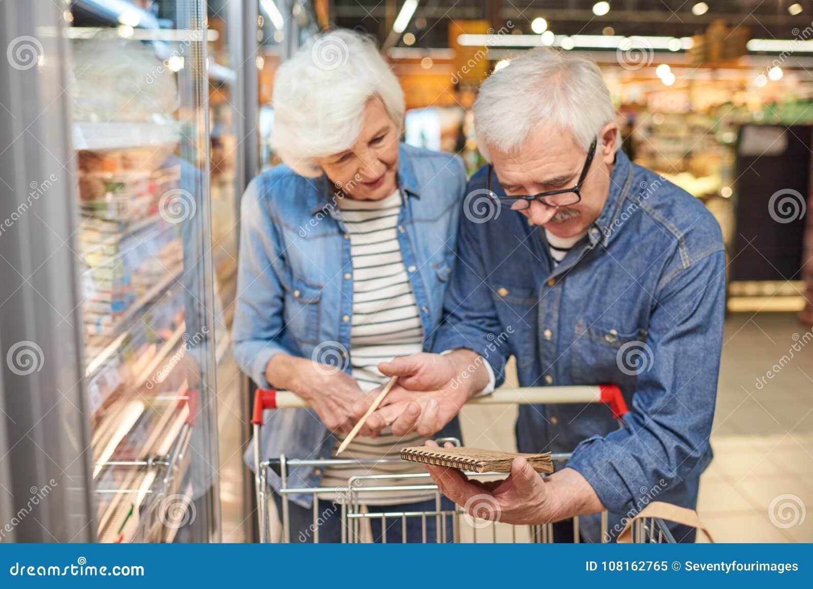 Seniour pary Czytelnicza lista zakupów