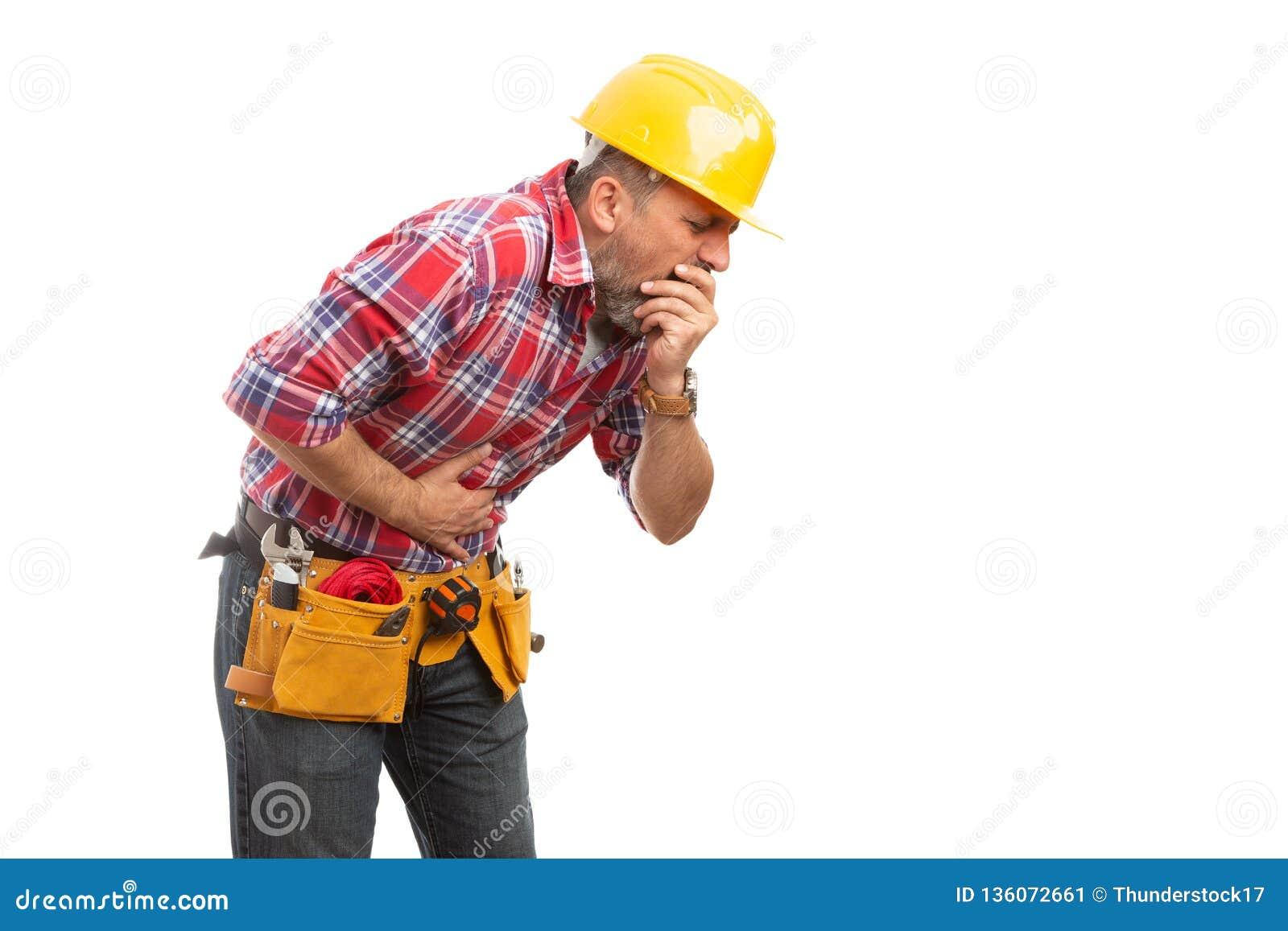 Sensibilità del costruttore malata allo stomaco