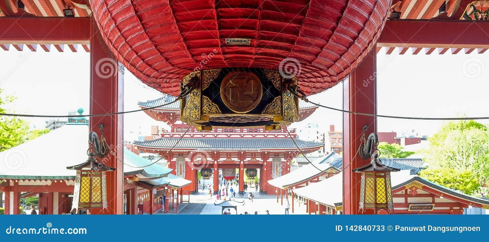 Sensoji or Asakusa Kannon Temple is a Buddhist temple located in Asakusa, landmark and popular for tourist attractions. 7 April 20