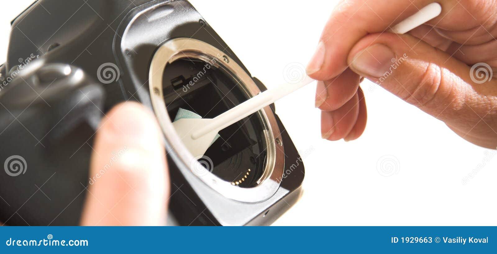Sensor cleanilig