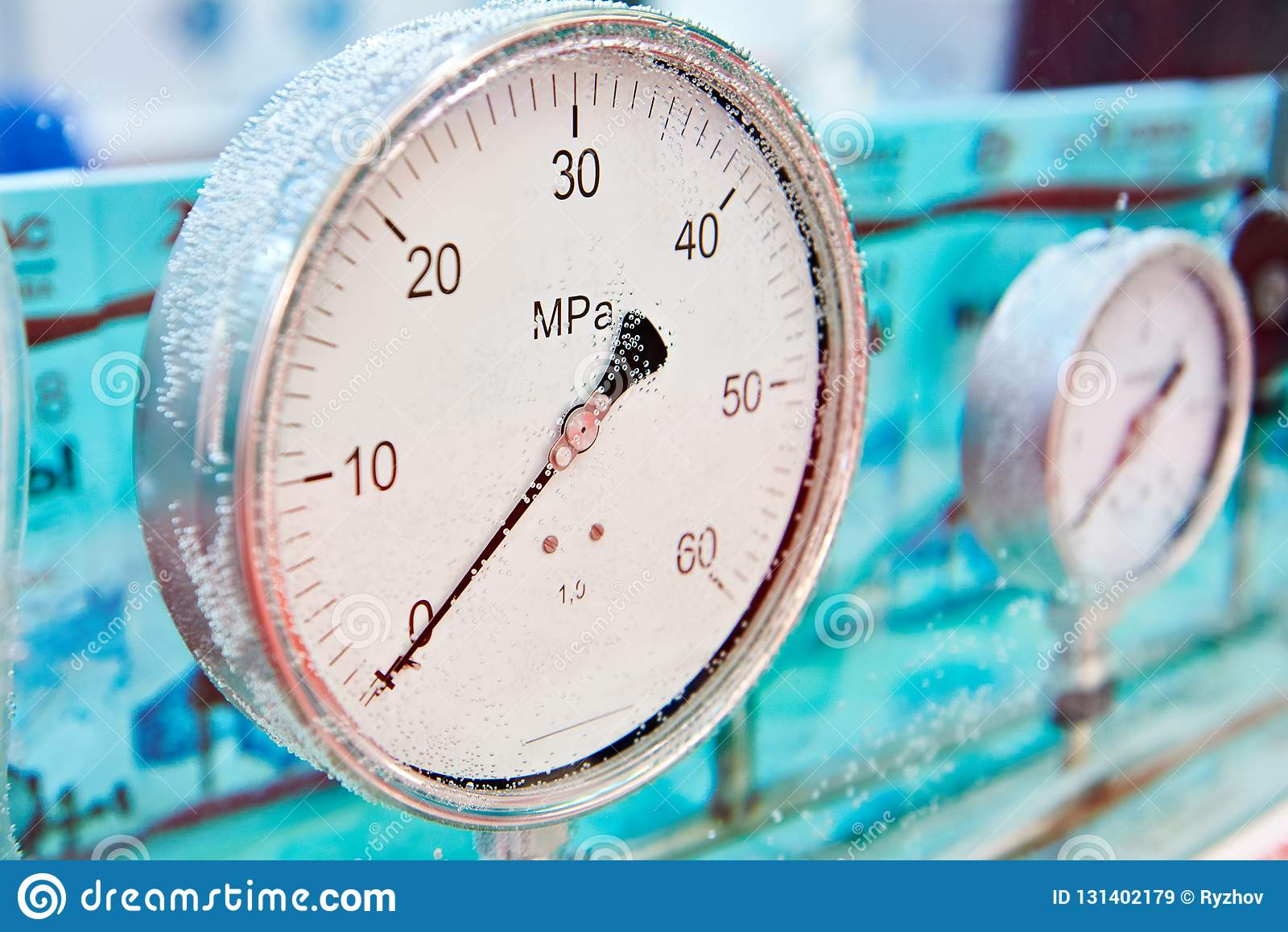 Sensores análogos industriales de la presión en agua