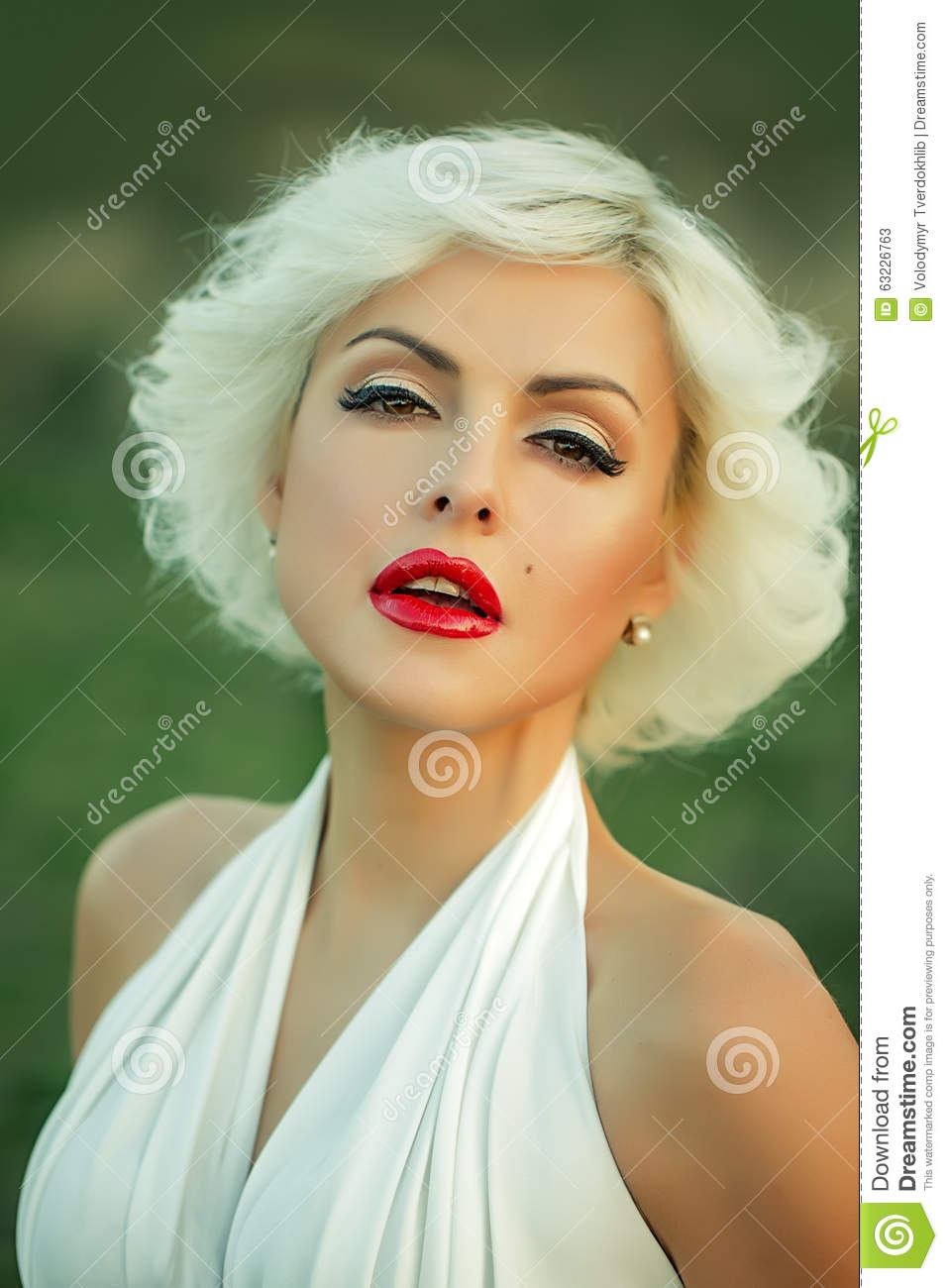 monroe Young blonde