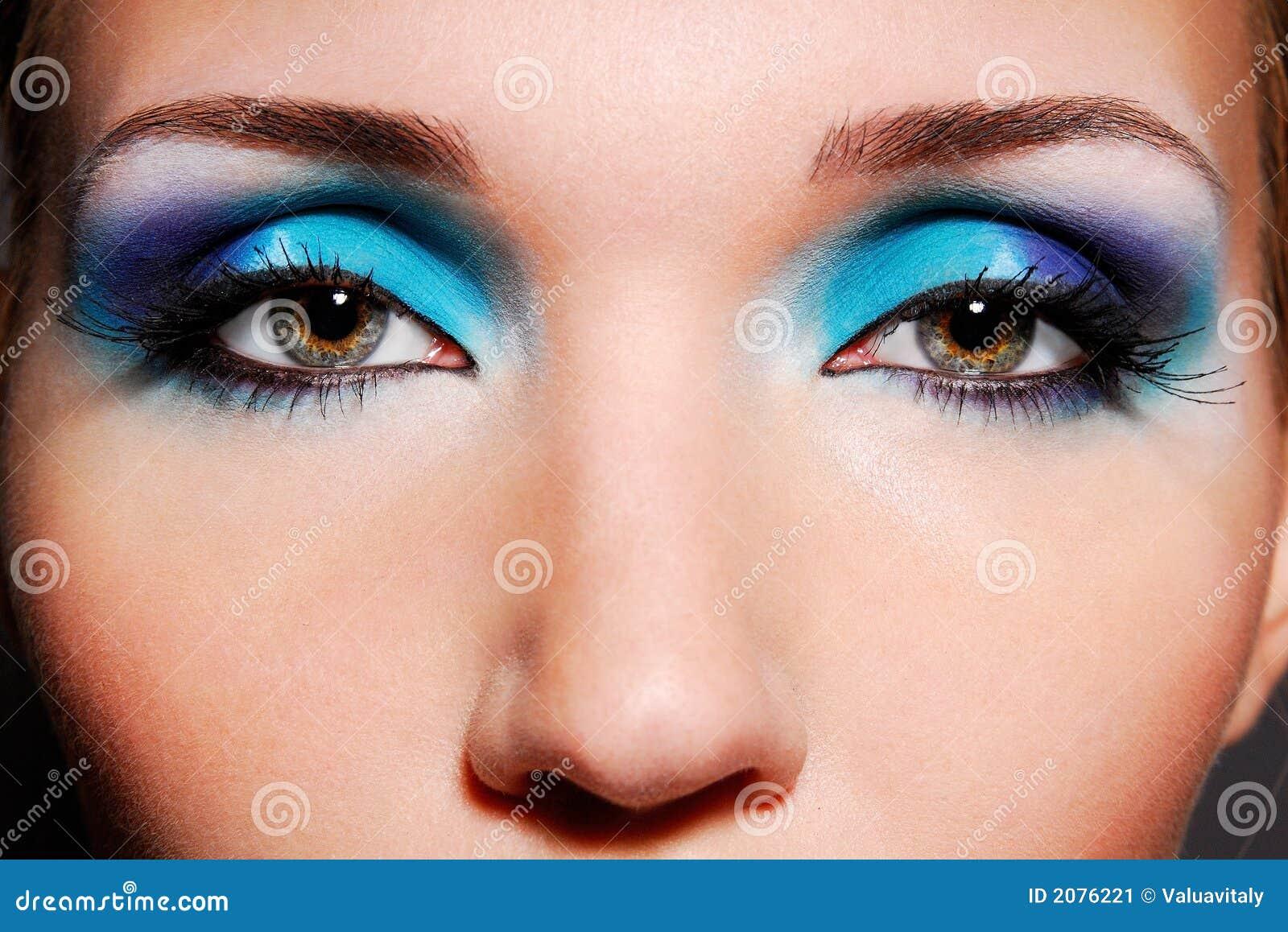 Макияж фото выразительными глазами