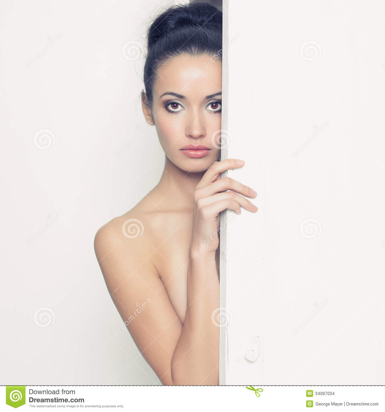 Sensual Lady In Classical Interior Stock Images Image 34097034