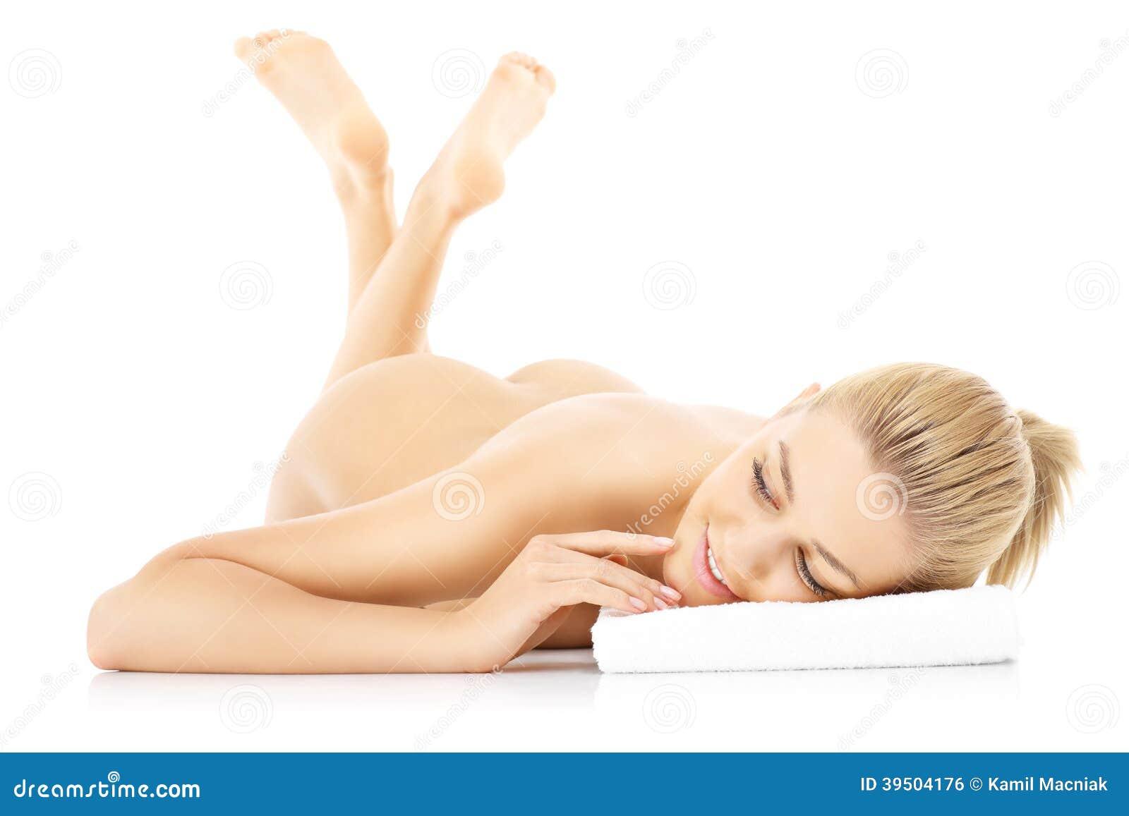 Sensual naked woman