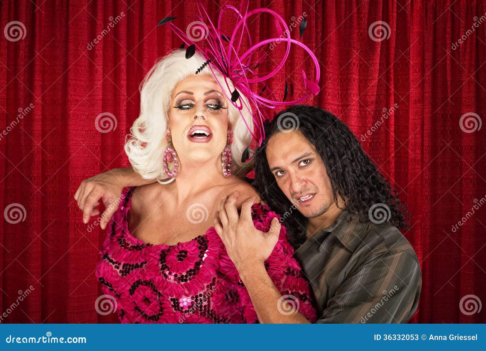 Download Sensual Odd Couple stock image. Image of dramatic, actress - 36332053
