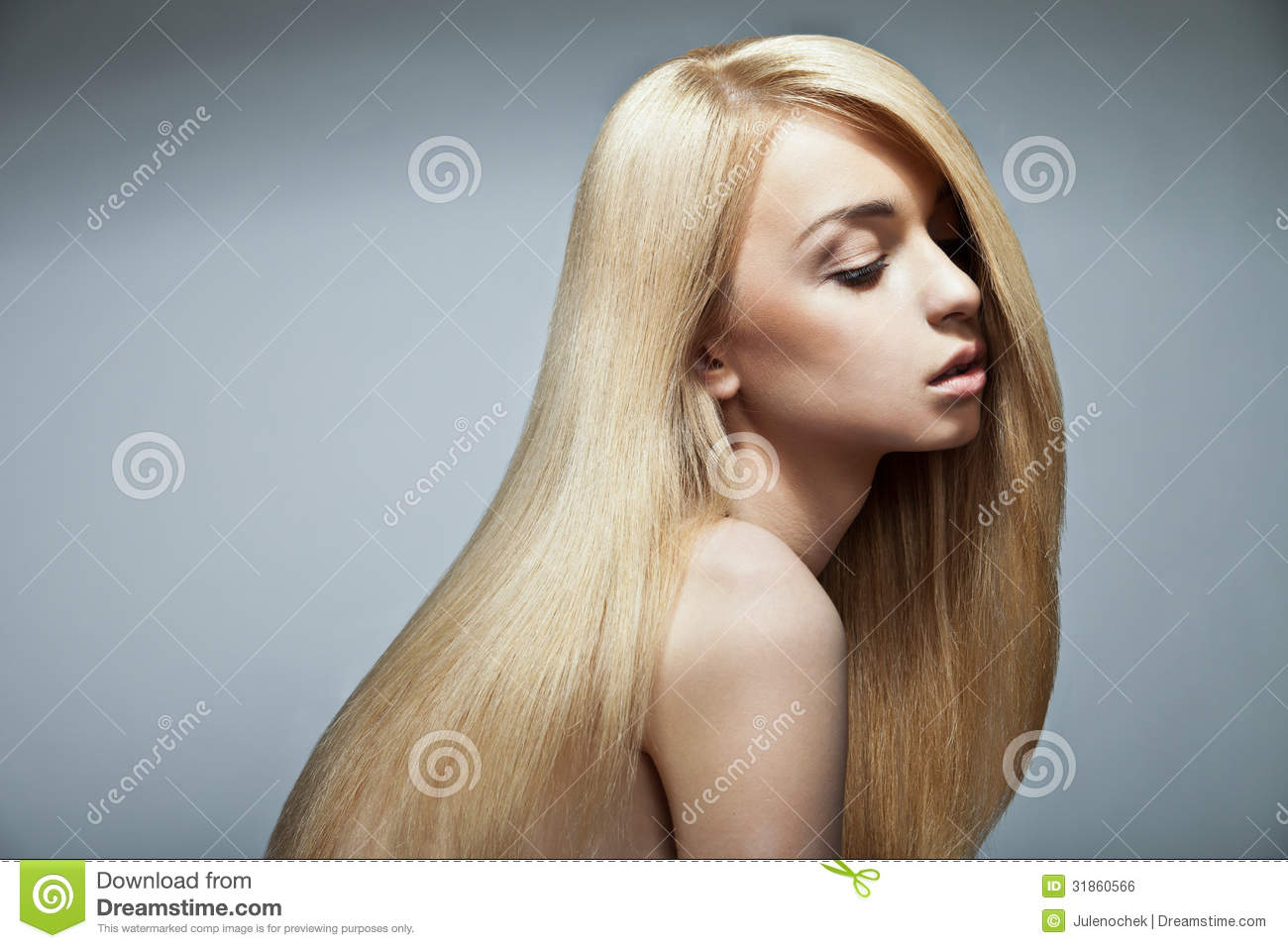 how to make hair shiny and straight naturally