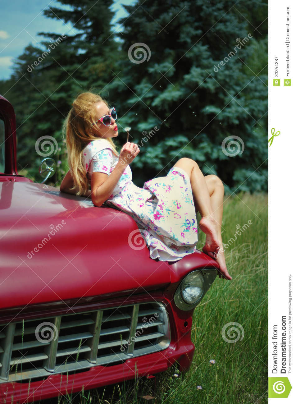 from Ethan nude girls sitting on cars