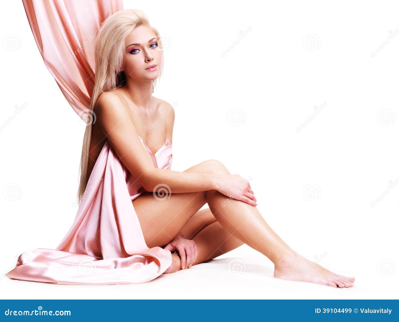 Sensuele jonge vrouw met mooi lichaam.