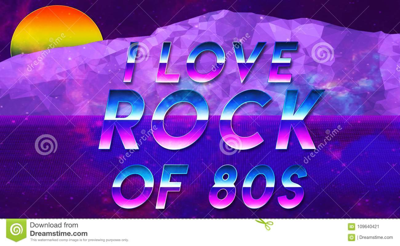 Sentence I Love The 80s Vaporwave Effect Cool And Galxy New