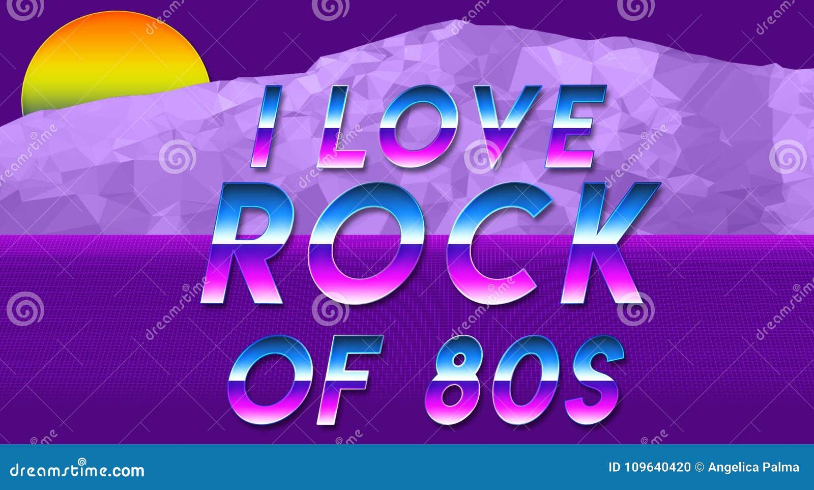 Sentence I Love The 80s Vaporwave Effect New Cool Wallpaper Stock