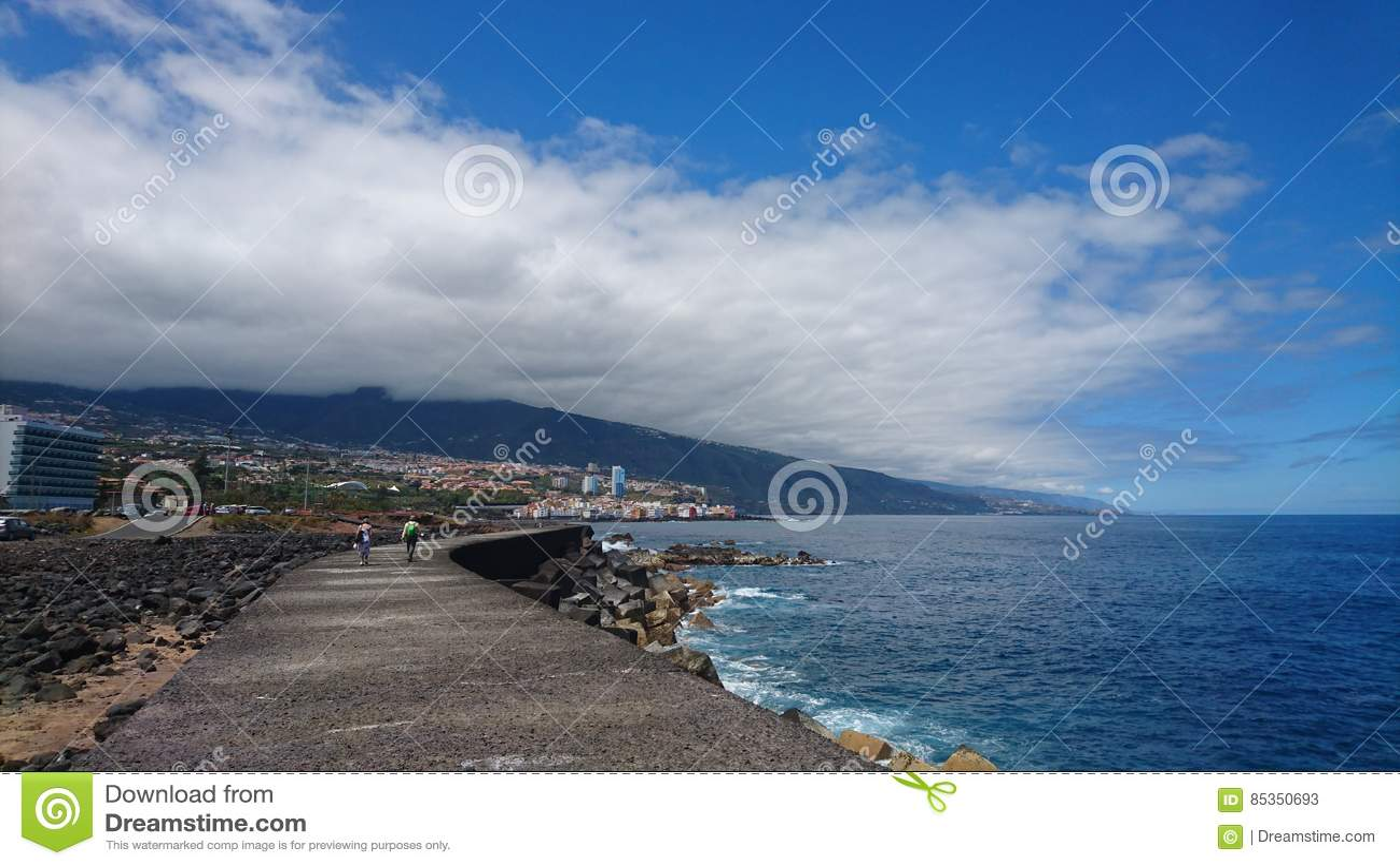 Sentiero costiero costiero Tenerife