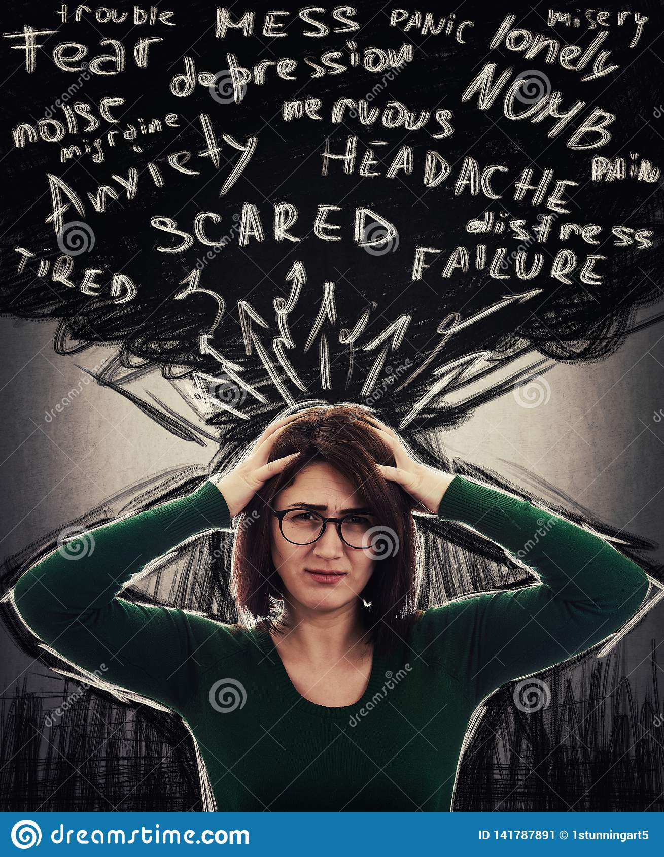 Sentiment d inquiétude et de dépression