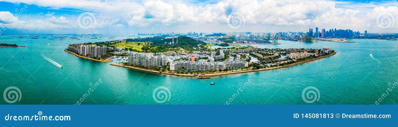 Sentosa wyspa Singapur - figlarność