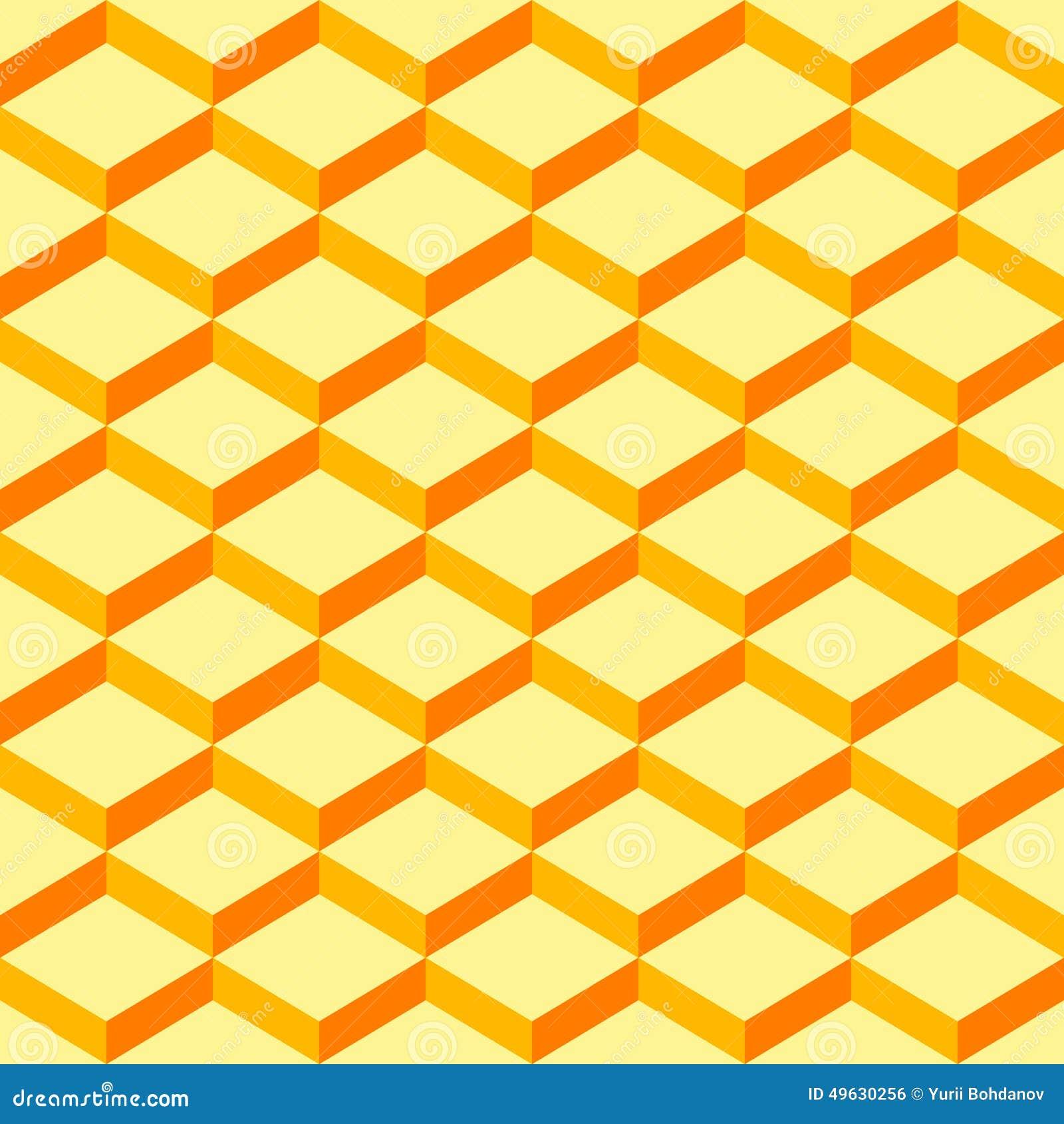 Senza cuciture-modello-avvolgere-carta-giallo-fondo