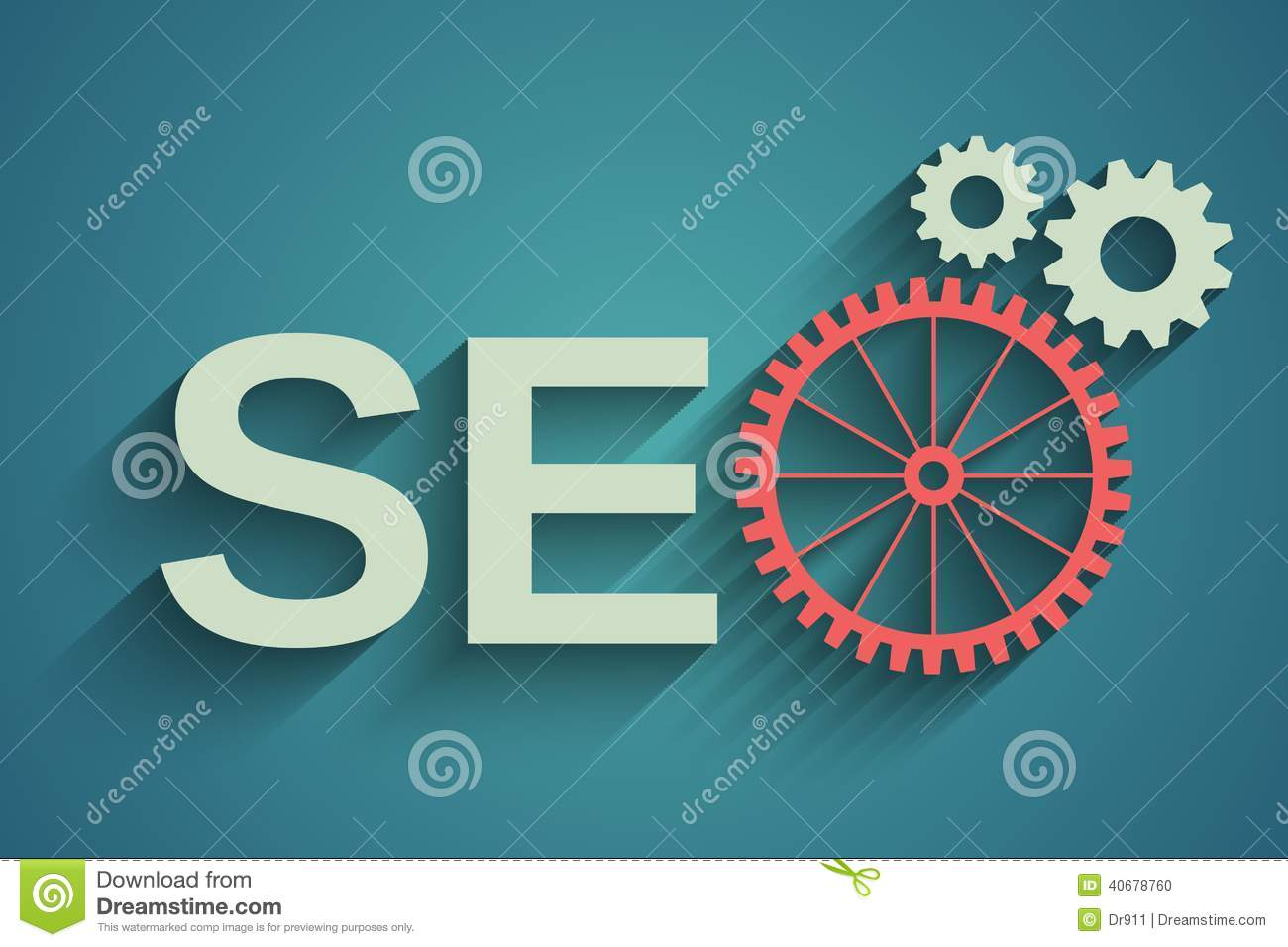 Seo tag with gear wheel