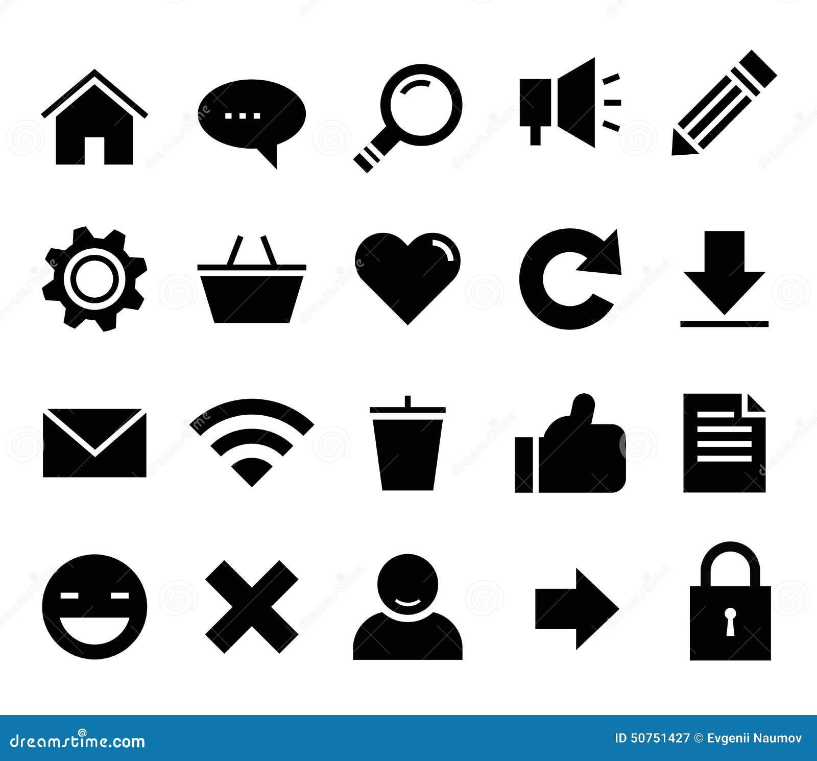 SEO y web determinado del icono del vector de Internet, sitio web