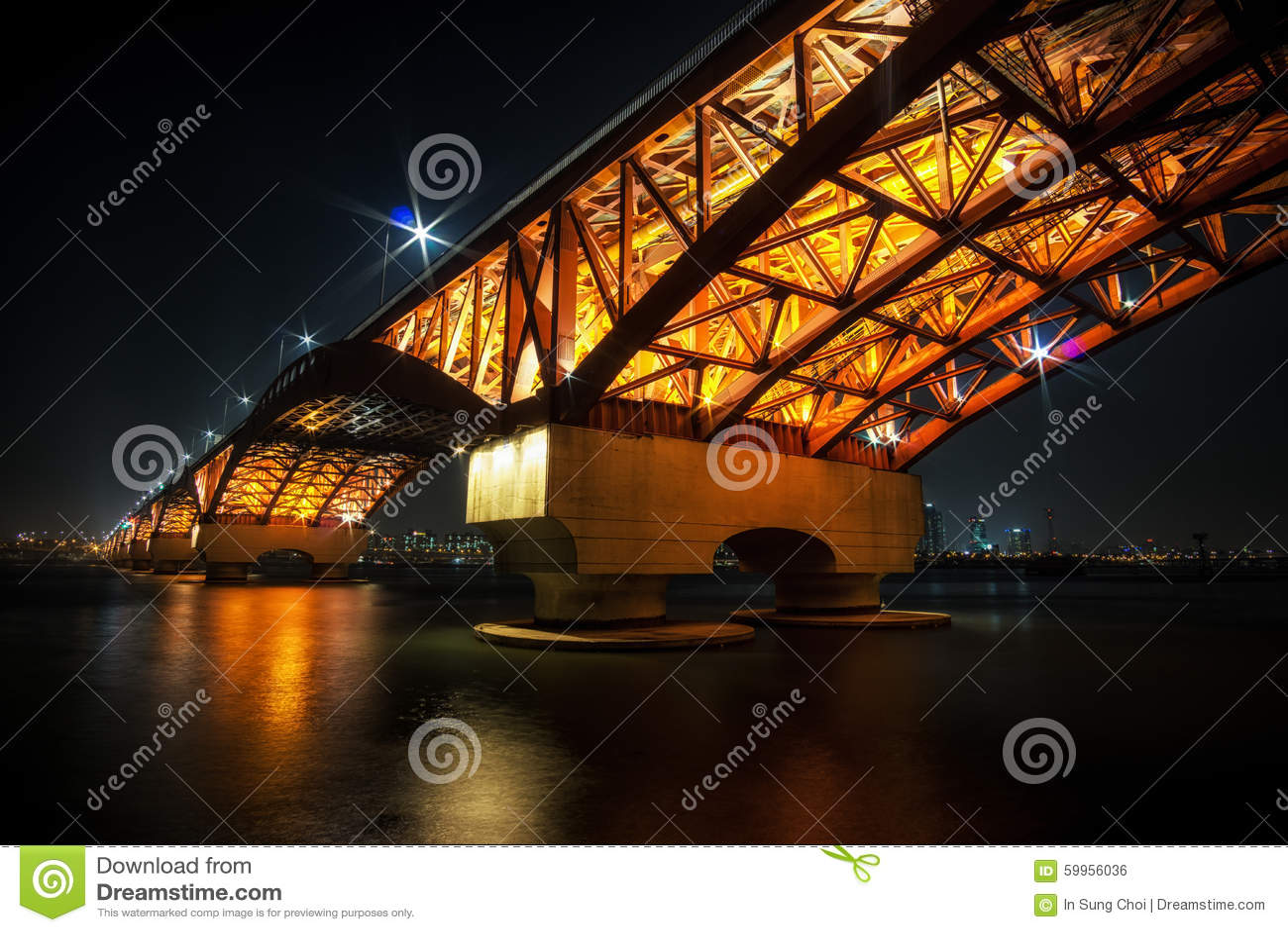 Seongsan Bridge over Han River
