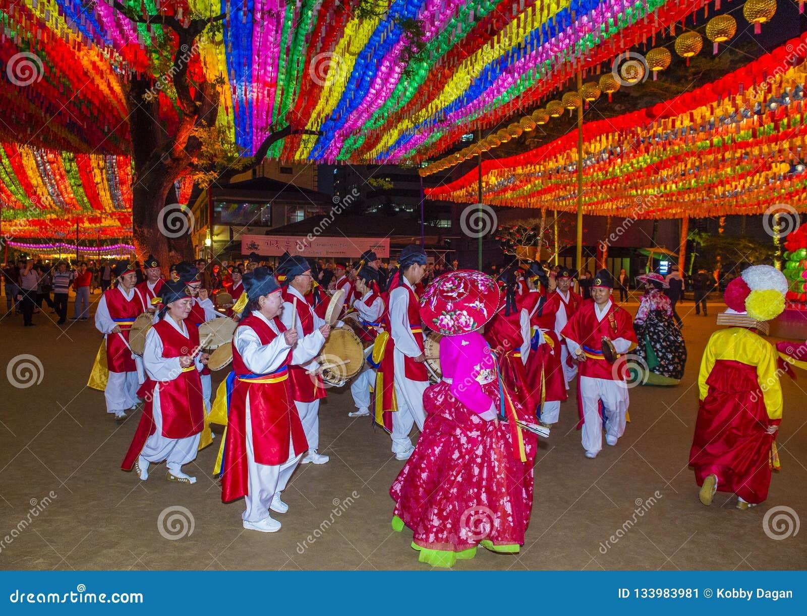 Seoul Lotus Lantern Festival Editorial Photo Image Of Asia Ancient 133983981