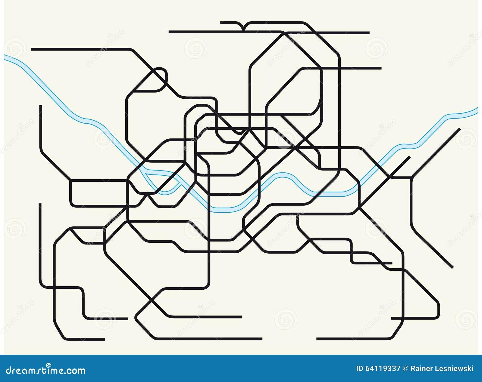 Seoul Metropolitan Subway Map Download.Seoul Metropolitan Subway Map Stock Illustration Illustration Of