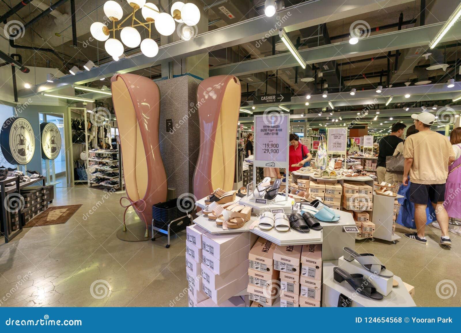shoe shops in city centre