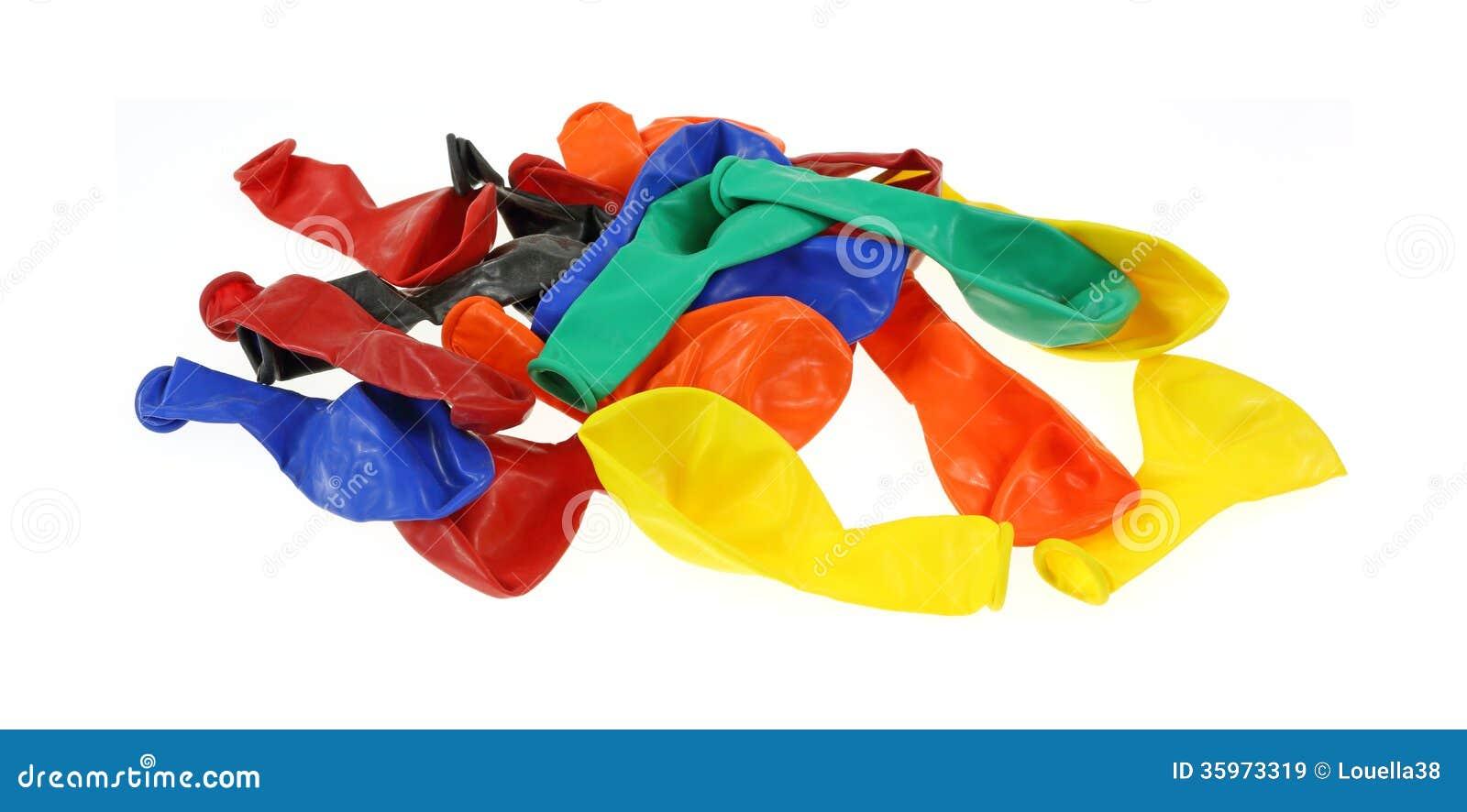 Separe hacia fuera el partido Baloons del lote