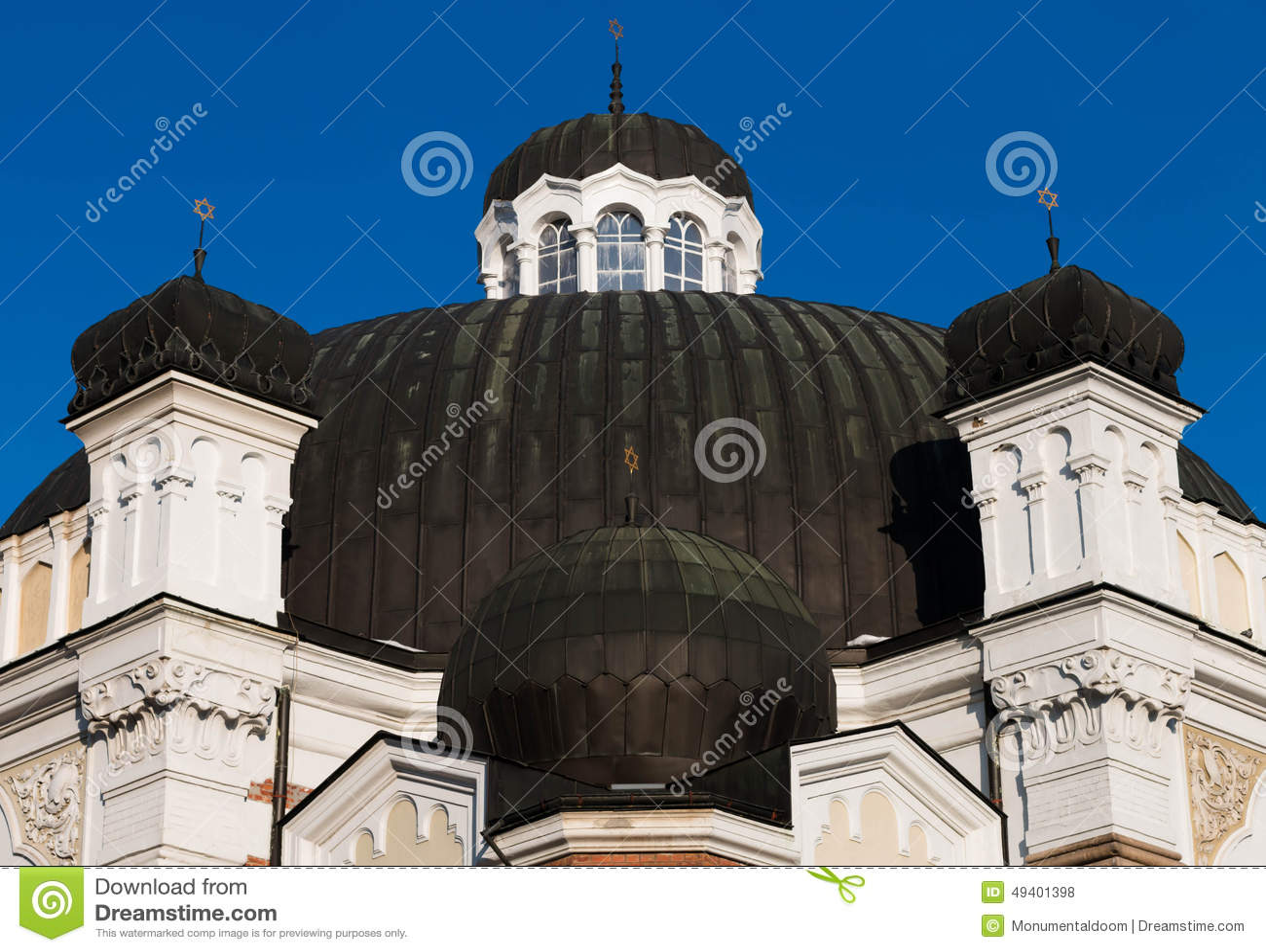 Download Sephardische Synagoge, Sofia, Bulgarien Stockfoto - Bild von religion, balkan: 49401398