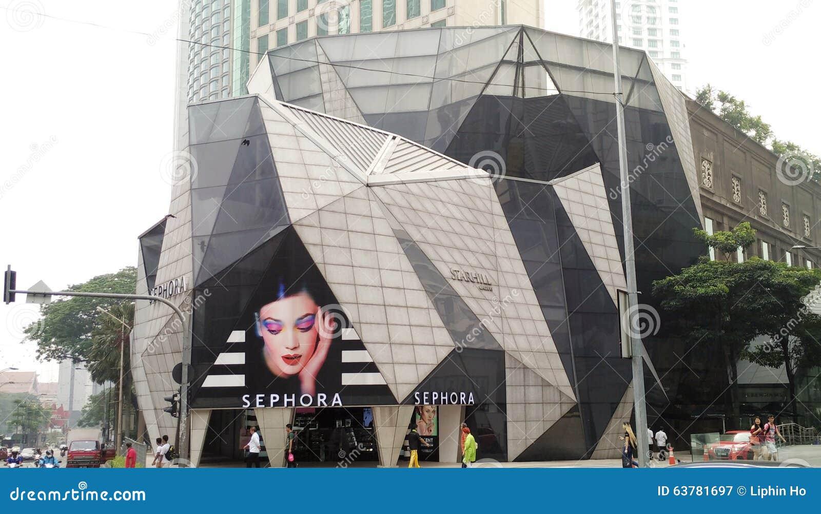 Sephora przy Bukit Bintang Kuala Lumpur