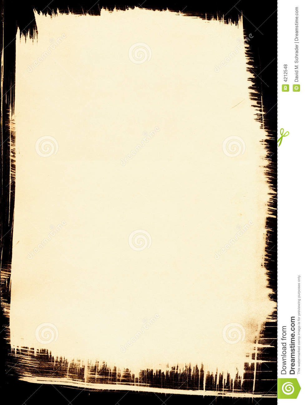 Blank Wanted Poster Paper Sepia Background With ...