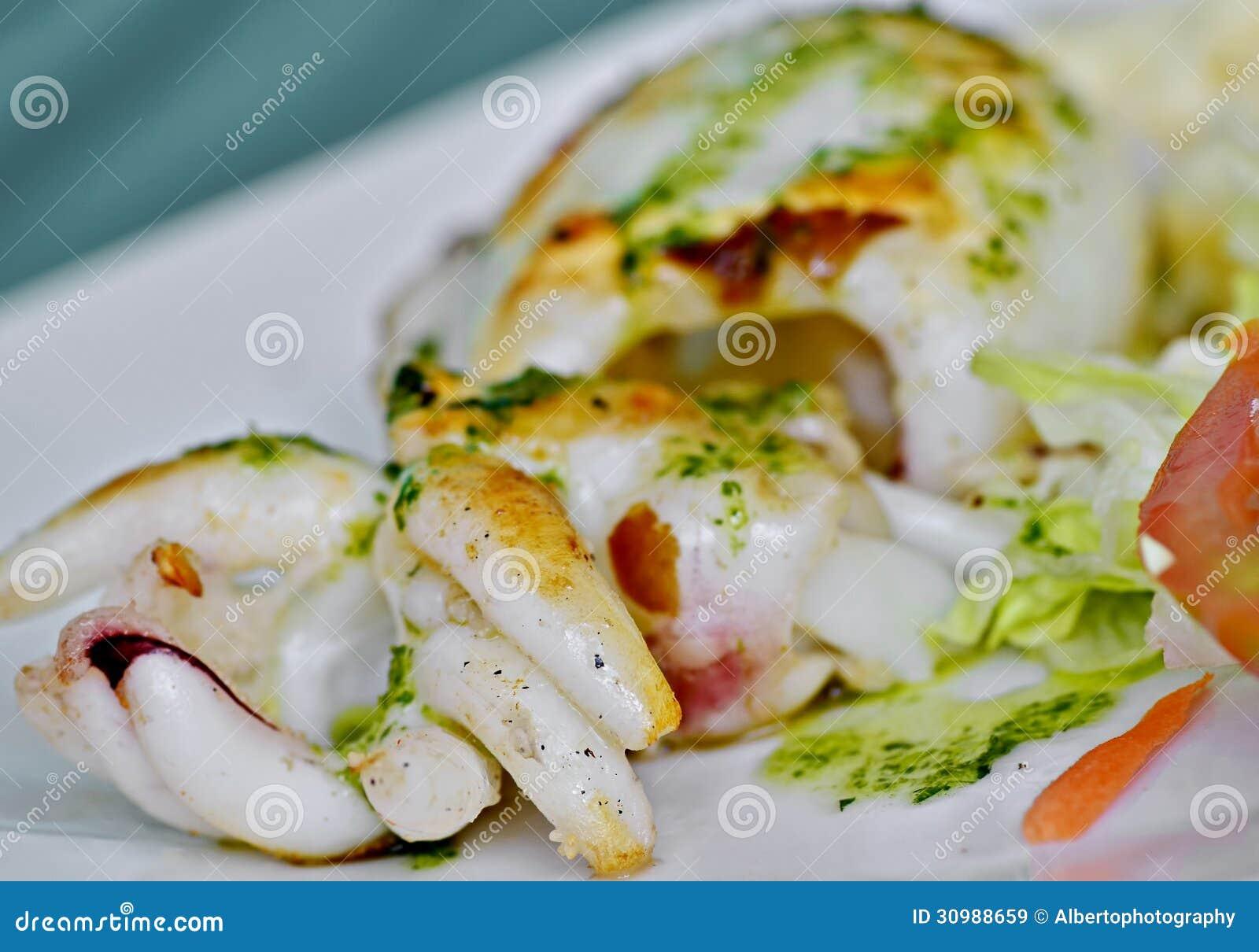Sepia Restaurant Food