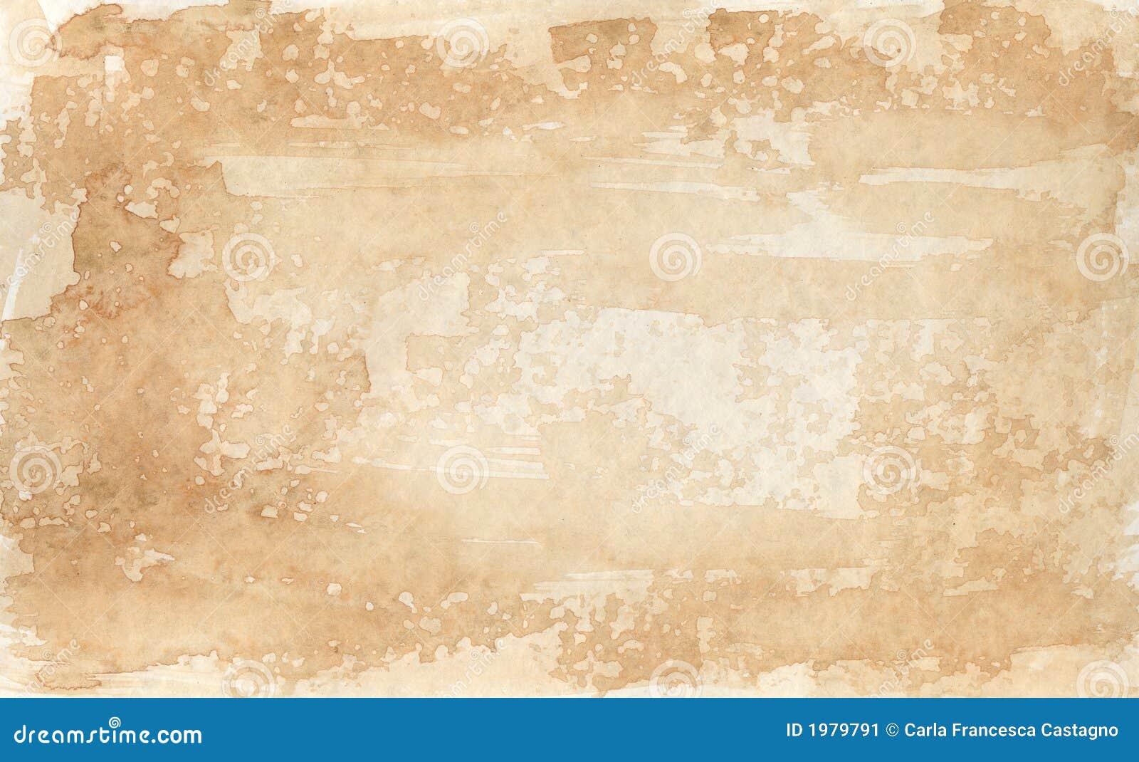 Sepia-gekleurde achtergrond 2 - waterverven
