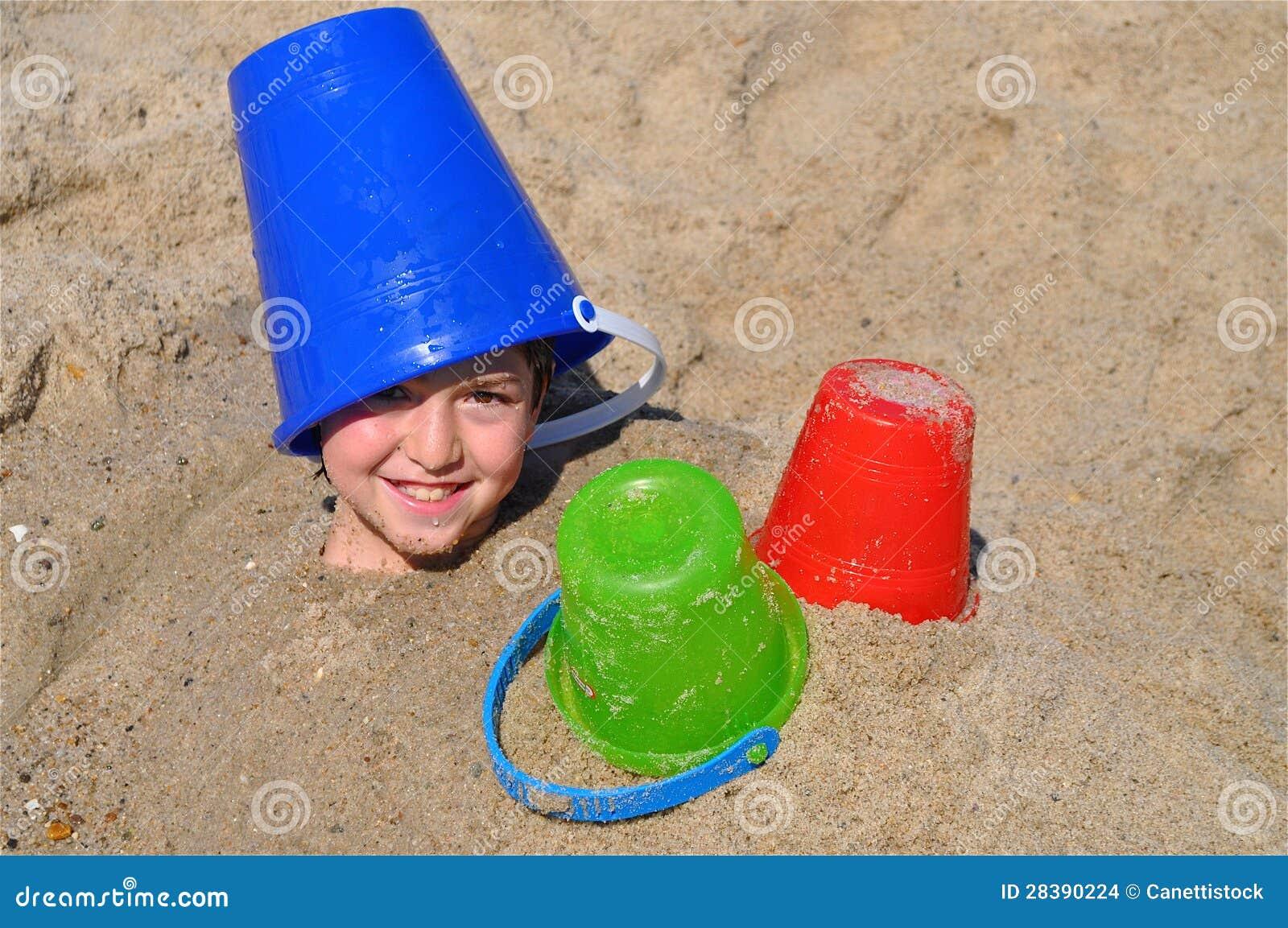 Sepolto nella sabbia