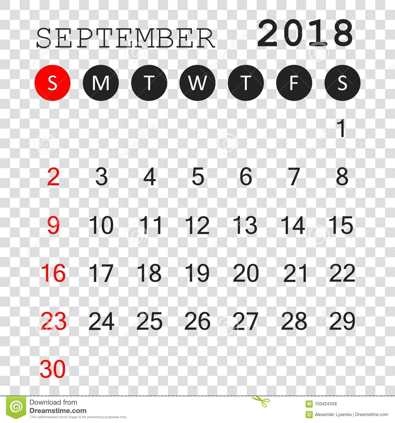 september 2018 calendar calendar planner design template week